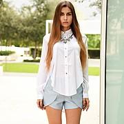 Karina Dunaeva model. Photoshoot of model Karina Dunaeva demonstrating Fashion Modeling.Fashion Modeling Photo #170662