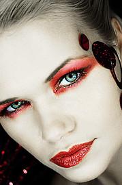 Kat Livingston model. Photoshoot of model Kat Livingston demonstrating Face Modeling.Face Modeling Photo #143557