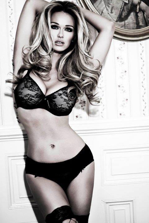 Katarina Van Derham model & fashion editor. Photoshoot of model Katarina Van Derham demonstrating Body Modeling.Glamour,LingerieBody Modeling Photo #62899