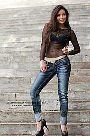Kate Funes model (modella). Photoshoot of model Kate Funes demonstrating Fashion Modeling.Fashion Modeling Photo #92948