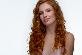 Kate Gurtova model. Photoshoot of model Kate Gurtova demonstrating Face Modeling.Face Modeling Photo #216931