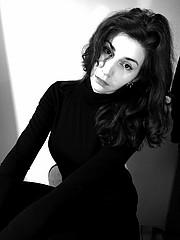 Katerina Ailamaki model (μοντέλο). Photoshoot of model Katerina Ailamaki demonstrating Face Modeling.Face Modeling Photo #229422