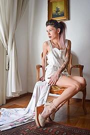 Katerina Apostolopoulou model (μοντέλο). Photoshoot of model Katerina Apostolopoulou demonstrating Fashion Modeling.Fashion Modeling Photo #169351