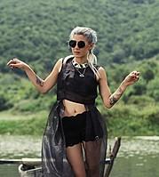 Katerina Apostolopoulou model (μοντέλο). Photoshoot of model Katerina Apostolopoulou demonstrating Fashion Modeling.Fashion Modeling Photo #169356