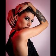 Katerina Apostolopoulou model (μοντέλο). Photoshoot of model Katerina Apostolopoulou demonstrating Face Modeling.Face Modeling Photo #216080