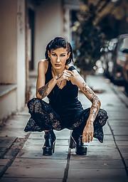 Katerina Apostolopoulou model (μοντέλο). Photoshoot of model Katerina Apostolopoulou demonstrating Fashion Modeling.Fashion Modeling Photo #216081