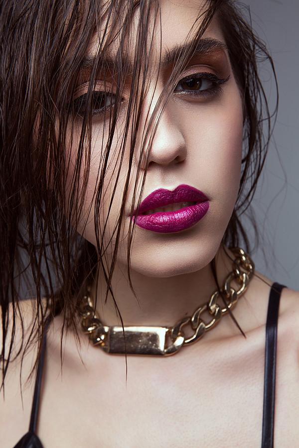 Katerina Karadimas model. Katerina Karadimas demonstrating Face Modeling, in a photoshoot by Vlad Savin with makeup done by Jaynelle Lording.photographer vlad savinmakeup Jaynelle LordingFace Modeling Photo #135109