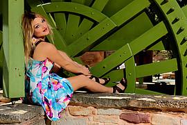 Kathrine Athanasiou model (μοντέλο). Photoshoot of model Kathrine Athanasiou demonstrating Fashion Modeling.Fashion Modeling Photo #188682
