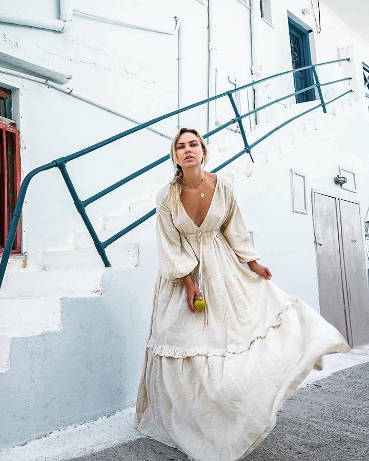 Katia Dede model (Κάτια Δέδε μοντέλο). Photoshoot of model Katia Dede demonstrating Fashion Modeling.Fashion Modeling Photo #212522