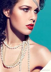 Katie Tulyankina model (модель). Photoshoot of model Katie Tulyankina demonstrating Face Modeling.Face Modeling Photo #103242