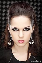 Katie Tulyankina model (модель). Photoshoot of model Katie Tulyankina demonstrating Face Modeling.Face Modeling Photo #103243