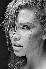 Katrina Elizabeth model. Photoshoot of model Katrina Elizabeth demonstrating Face Modeling.Face Modeling Photo #117967