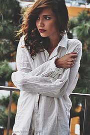 Katrina Elizabeth model. Photoshoot of model Katrina Elizabeth demonstrating Face Modeling.Face Modeling Photo #117975