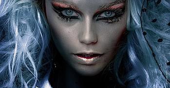 Katrina Wilkinson model. Photoshoot of model Katrina Wilkinson demonstrating Face Modeling.Face Modeling Photo #95836