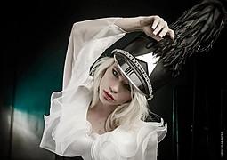 Katrina Wilkinson model. Katrina Wilkinson demonstrating Face Modeling, in a photoshoot by Tolga Katas.MUA: FeraleneFace Modeling Photo #95843