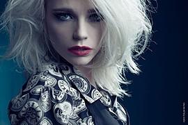 Katrina Wilkinson model. Photoshoot of model Katrina Wilkinson demonstrating Face Modeling.Face Modeling Photo #95845