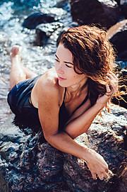 Katya Tsekhmister model. Photoshoot of model Katya Tsekhmister demonstrating Face Modeling.Face Modeling Photo #157421