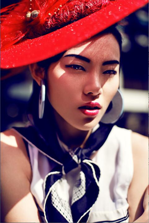 Kenneth Wong fashion stylist. styling by fashion stylist Kenneth Wong.Hat Photo #47040