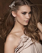 Kerstin Cook model. Photoshoot of model Kerstin Cook demonstrating Face Modeling.Face Modeling Photo #169413