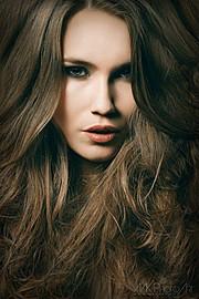 Kerstin Cook model. Photoshoot of model Kerstin Cook demonstrating Face Modeling.Face Modeling Photo #73567