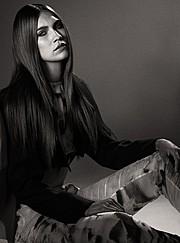 Kerstin Cook model. Photoshoot of model Kerstin Cook demonstrating Face Modeling.Face Modeling Photo #73569