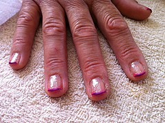 Keryn Ward makeup artist. Work by makeup artist Keryn Ward demonstrating Manicure.Manicure Photo #68513