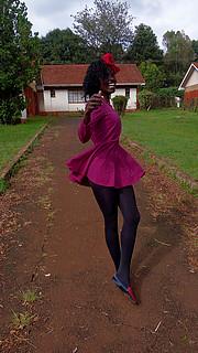 Keziah Mwangi model. Photoshoot of model Keziah Mwangi demonstrating Fashion Modeling.Fashion Modeling Photo #229550