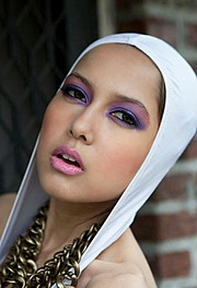 Khadine Clarke makeup artist. Work by makeup artist Khadine Clarke demonstrating Beauty Makeup.Portrait Photography,Beauty Makeup Photo #60617
