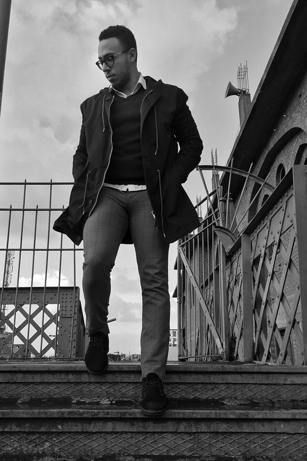 Khalid Barakat model. Photoshoot of model Khalid Barakat demonstrating Fashion Modeling.Fashion Modeling Photo #197497