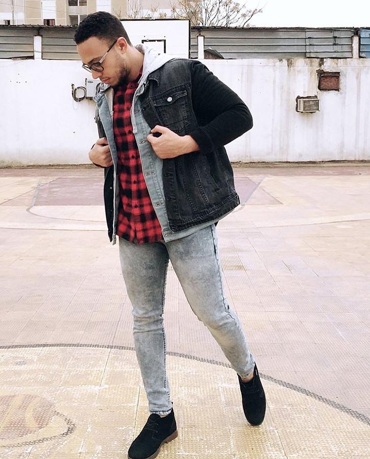 Khalid Barakat model. Photoshoot of model Khalid Barakat demonstrating Fashion Modeling.Fashion Modeling Photo #197499