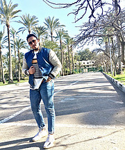 Khalid is an electrical engineer based also an enthusiastic influencer and a photographer based in Cairo, Egypt. He does both fashion and fi