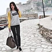 Kiara Tito model (modele). Photoshoot of model Kiara Tito demonstrating Fashion Modeling.Fashion Modeling Photo #144921