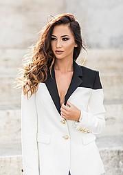 Kiara Tito model (modele). Photoshoot of model Kiara Tito demonstrating Fashion Modeling.Fashion Modeling Photo #161735