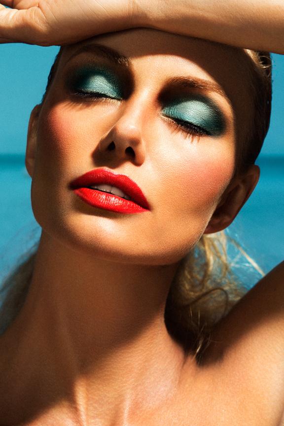 Kim Young makeup artist. Work by makeup artist Kim Young demonstrating Beauty Makeup.Face CloseupBeauty Makeup Photo #70870
