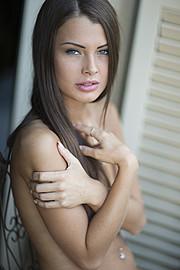 Klaudia Burman model (modell). Photoshoot of model Klaudia Burman demonstrating Face Modeling.Face Modeling Photo #80623