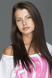 Klaudia Burman model (modell). Photoshoot of model Klaudia Burman demonstrating Face Modeling.Face Modeling Photo #80626