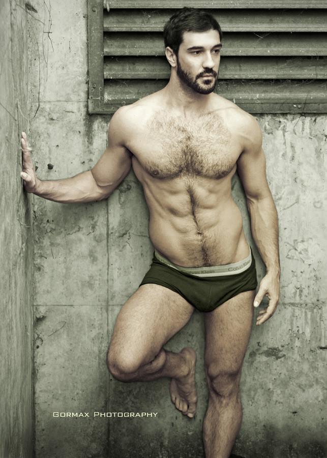 Konstantino Michael model (μοντέλο). Photoshoot of model Konstantino Michael demonstrating Body Modeling.Body Modeling Photo #159804