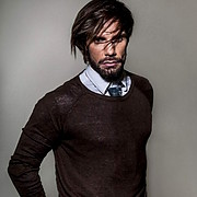 Konstantinos Pavlopoulos (Κωνσταντίνος Παυλόπουλος) fashion & comercial model. Photoshoot of model Konstantinos Pavlopoulos demonstrating Face Modeling.Face Modeling Photo #202814