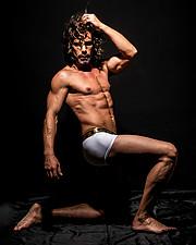 Konstantinos Pavlopoulos (Κωνσταντίνος Παυλόπουλος) fashion & comercial model. Photoshoot of model Konstantinos Pavlopoulos demonstrating Body Modeling.Body Modeling Photo #228753