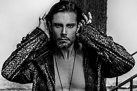 Konstantinos Pavlopoulos (Κωνσταντίνος Παυλόπουλος) fashion & comercial model. Photoshoot of model Konstantinos Pavlopoulos demonstrating Face Modeling.Face Modeling Photo #228757