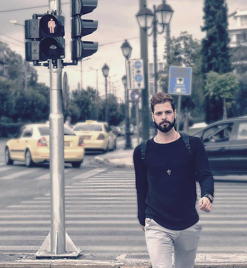 Kostas Marou model (μοντέλο). Modeling work by model Kostas Marou. Photo #203865