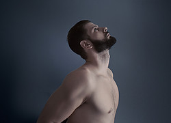 Kostas Marou model (μοντέλο). Photoshoot of model Kostas Marou demonstrating Body Modeling.Body Modeling Photo #203866