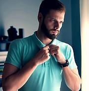 Kostas Marou model (μοντέλο). Photoshoot of model Kostas Marou demonstrating Fashion Modeling.Fashion Modeling Photo #203869