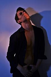 Kostas Vidras model (Κώστας Βίδρας μοντέλο). Modeling work by model Kostas Vidras.hair/make up/stylling/photo:by Brezas Stavros Photo #136375