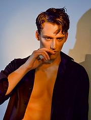 Kostas Vidras model (Κώστας Βίδρας μοντέλο). Photoshoot of model Kostas Vidras demonstrating Face Modeling.Face Modeling Photo #222719