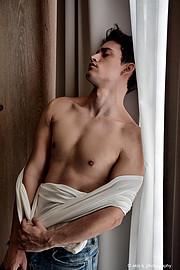 Kostas Vidras model (Κώστας Βίδρας μοντέλο). Photoshoot of model Kostas Vidras demonstrating Body Modeling.Body Modeling Photo #222721