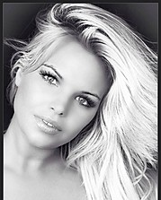 Kourtney Reppert model. Photoshoot of model Kourtney Reppert demonstrating Face Modeling.Face Modeling Photo #109997