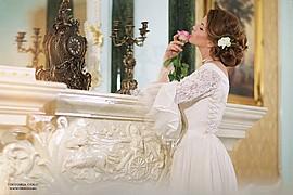 Kristina Yakimova model (модель). Photoshoot of model Kristina Yakimova demonstrating Fashion Modeling.NecklaceFashion Modeling Photo #102980
