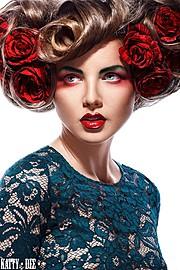 Kristina Yakimova model (модель). Photoshoot of model Kristina Yakimova demonstrating Face Modeling.Photograher: KATIA NIKITINAFace Modeling Photo #103003