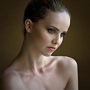 Kristina Yakimova model (модель). Photoshoot of model Kristina Yakimova demonstrating Face Modeling.Face Modeling Photo #118249
